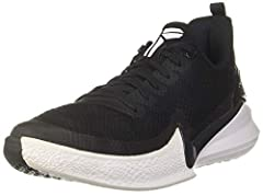 TPU eyelets inspired by snake eyes Embossed upper material elevates control and stability Molded Swoosh-shaped framework and heel cage provides lightweight support Air Zoom unit helps cushion hard landings on the court Low-top design provides support...