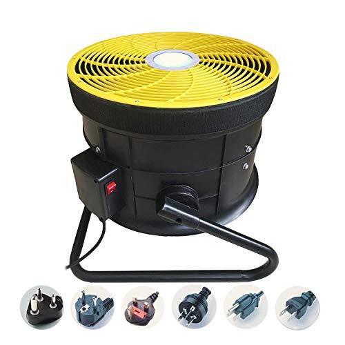 Cubierta al aire libre 1 caballo de fuerza inflable ventilador de ventilador, Comercial Gorila inflable bomba de aire del ventilador con control de luz LED for la decoración de la oficina del recorrid