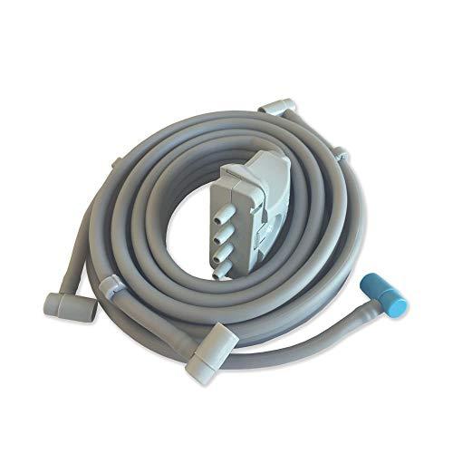 MESIS connettore singolo per fascia addominale/glutei per pressoterapie, Xpress Beauty e Top Medical a 4 camere