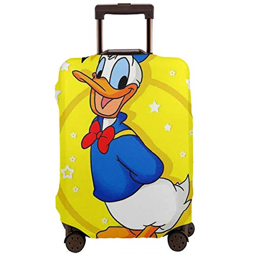 Travel Luggage Cover Donald Duck Suitcase Protector Washable Baggage Covers 18-32 Inch