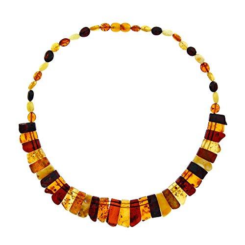 Nature d'Ambre 3170601 - Collar de Mujer con ámbar, 45 cm