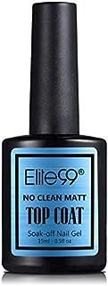 Elite99 No Clean Matt Nail Top Coat - 15 ml