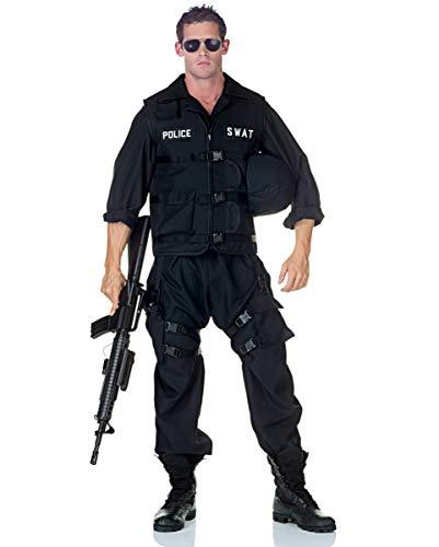 Horror-Shop S.W.A.T. Officer Kostüm als Berufsuniform für Männer