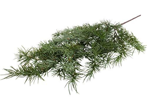 Floratexx künstlicher Edel-Zedernast (Weihnachtszweig) Länge ca. 80 cm