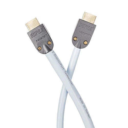 Supra Cables HDMI Ice Blue 4K with Ethernet 1,5 m