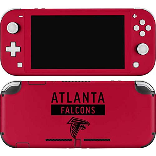 Skinit Decal Gaming Skin Compatible with Nintendo Switch Lite - Officially Licensed NFL Atlanta Falcons Red Performance Series Design