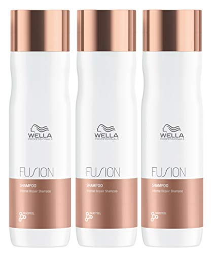 3-delige Wella Professional Fusion Intense Repair Shampoo 250 ml