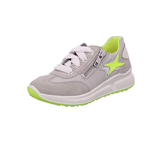 Superfit Merida, Zapatillas, Gris Claro y Amarillo, 34 EU