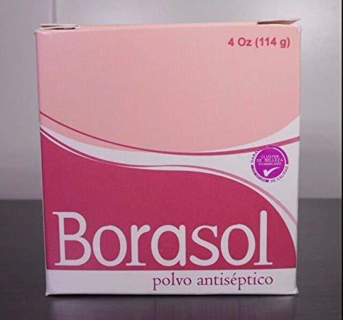 Borasol Antiseptic Powder - Polvo Antiseptico 4oz