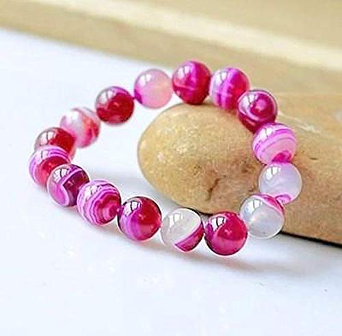 Shop Story - Pulsera de amor y reconciliación de ágata rosa