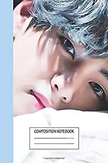 """Notebook: Taehyung , Journal for Writing, Size 6"""" x 9"""", 164 Pages"""