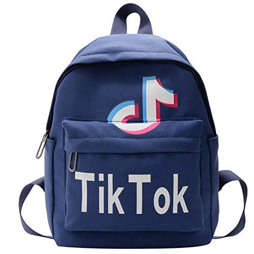 TIK tok Mochila para niños Bocadillo para niños pequeños Mochila Escuela Primaria Kindergarten Preescolar guardería Bolsa de Viaje Impermeable Lindo