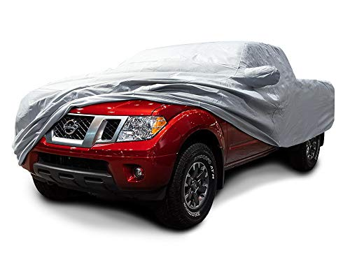 CarsCover Custom Fits 2005-2021 Nissan Frontier Crew Cab 4.75ft Bed Box Truck Car Cover Heavy Duty All Weatherproof Ultrashield