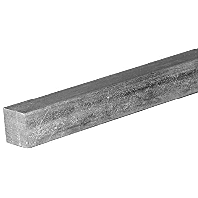 0.625 Mild Steel Square Bar A36 Hot Rolled 84.0