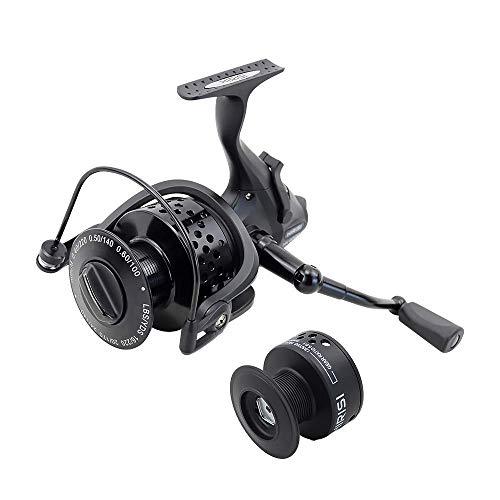 Velocità maggiore 5.5: 1 mulinello da pesca alla carpa per rocchetto d acqua dolce HK6000