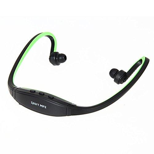 Broadroot deporte auriculares auriculares auriculares MP3 reproductor de música micro sd tf
