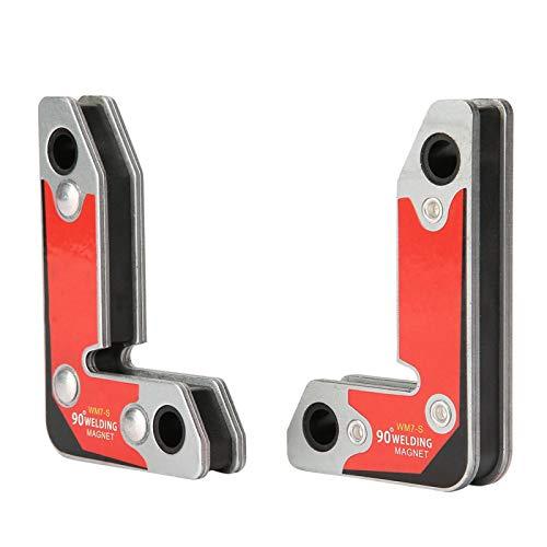 Imán de soldadura 30/60/90 grados soporte magnético soporte magnético fijador herramienta de soldadura marcado para soldadura de soldadura