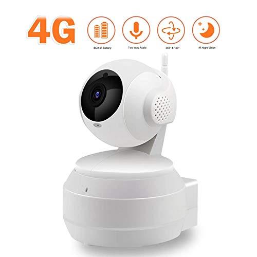 HEN'GMF Cámara IP Inalámbrica con Cámara 4G 1080P HD Red de Vigilancia Doméstica.