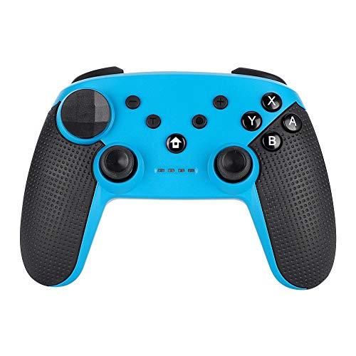 sjlerst Manette de Jeu sans Fil Bluetooth, Manette de Jeu sans Fil, Manette sans Fil, Manette sans Fil, Manette de Jeu Gamepad, Convient pour Switch Host(Bleu)