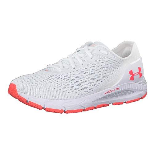 Under Armour Women's HOVR Sonic 3 Running Shoe, White (100)/White, 8