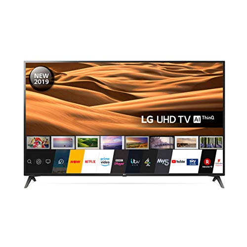 LG 70UM7100PLA 70 Inch UHD 4K HDR Smart LED TV with Freeview Play - Ceramic Black (2019 model)