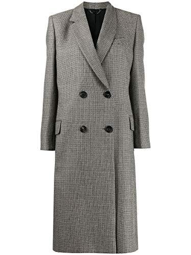 Fendi Luxury Fashion Donna FF8626A8D6F17XJ Grigio Lana Cappotto | Autunno-Inverno 19