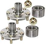 2 DTA Front Wheel Hub Wheel Bearing Repair Kits Left Right Fit 2006-2013 Mazda 3, Mazda 5. Replaces Dorman 930-003, Timken 510096