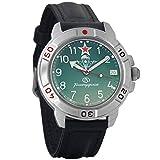 Vostok Komandirskie 2414A/431307 - Reloj de pulsera para hombre, diseño militar ruso