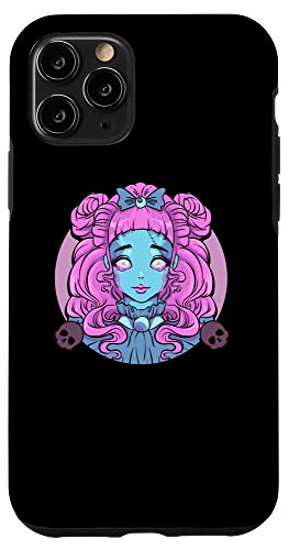 iPhone 11 Pro Pastel Goth Porcelain Doll Crying Tears Case -  Pastel Goth Porcelain Doll Crying Tears Designs