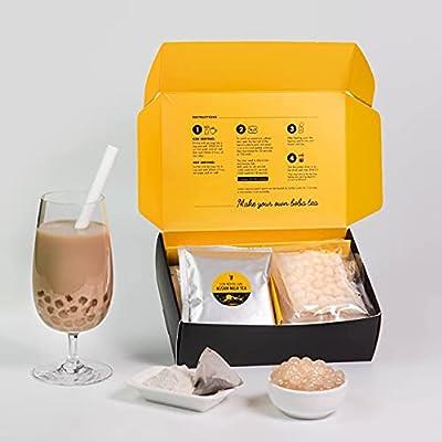 Oceana Jiffy Boba - Instant Boba Tea Kit - Assa...