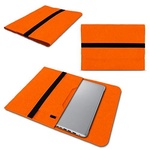 NAUC Lenovo Thinkpad Yoga 370 Tasche Hülle Filz Sleeve Hülle Schutzhülle Notebook Cover, Farben:Orange