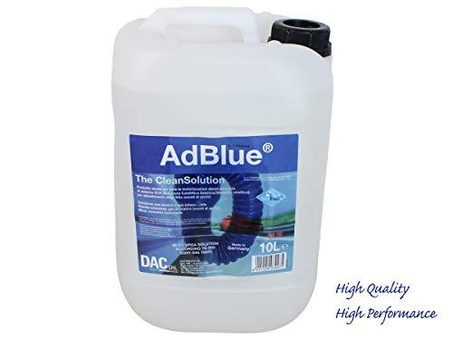 AdBlue ADB10L Additivo Def Diesel Exaust Fluid Tanica 10 LT con Imbuto Beccuccio per Auto con Catalizzatore SCR