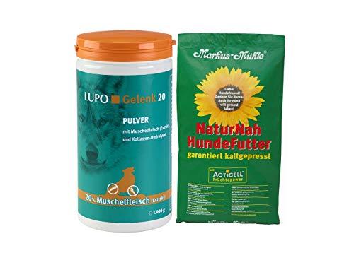 Luposan Lupo Gelenk 20 Pulver 1000g + gratis 1,5kg NaturNah Hundefutter