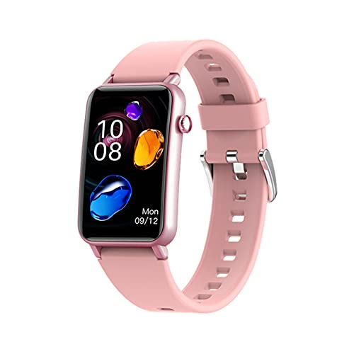 YDK Martwatch Men's Smart Watch IP68 Reloj Deportivo A Prueba De Agua Bluetooth Fitness Estrés Monitor De Frecuencia Cardíaca ZX17 para Android iOS,C