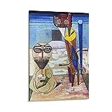 YANGNA 2 Max Ernst Surrealismus Home Decor Poster Wall Art