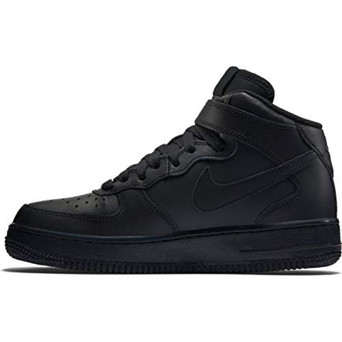 Nike Air Force 1 Mid '07, Scarpe da Basket Uomo, Black/Black, 40 EU