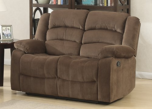 Christies Home Living Contemporary Room Reclining Love Seat,
