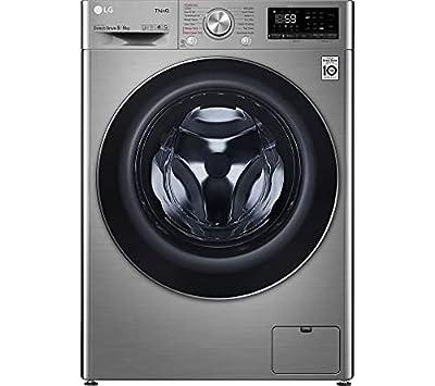 LG TurboWash™ with Steam™ V7 FWV796STSE 9/6kg Washer Dryer