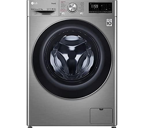 LG TurboWash with AI DD V7 FWV796STSE WiFi-enabled 9 kg Washer Dryer -...
