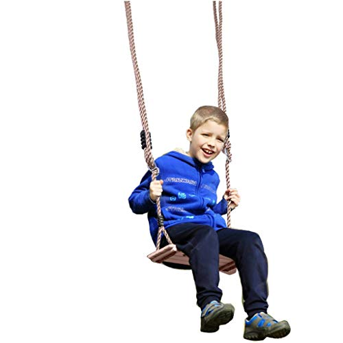 US Fast Shipment Swing Set, Swings Fun Outdoor Wooden Swing for Kids Up to 330 Lb Child Wood Play Set Swing layground Swingset Outdoor Accessories for Kids