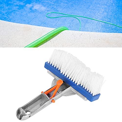 FECAMOS Cepillo para Piscina, Resistente Cepillo de Nailon para Piscina fácil de Usar Resistente al Desgaste para Piscinas, baños, Suelos de baldosas Interiores y Paredes
