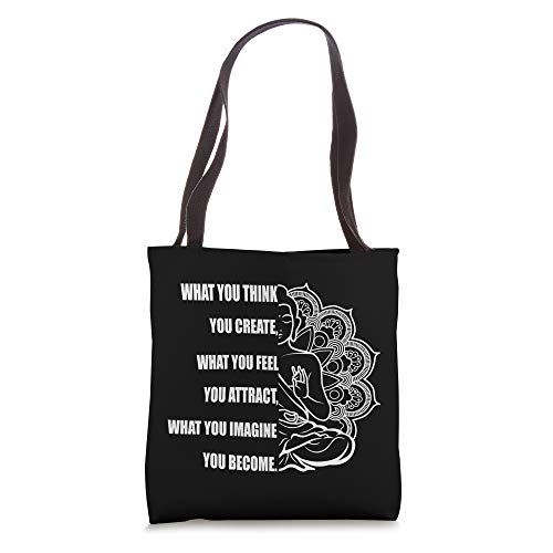 Buddha Meditation Shirt Law Of Attraction Tote Bag