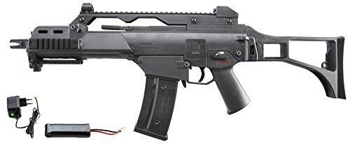 S&T Heckler & Koch G36C Sportsline Komplettset AEG 6mm BB schwarz