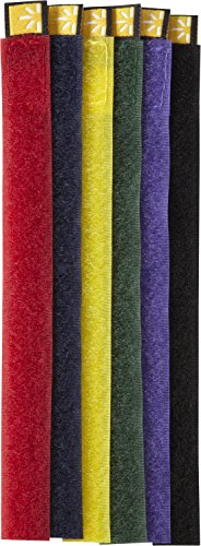 Case Logic CT-6 Self Attaching Cable Ties (Assorted Colors)