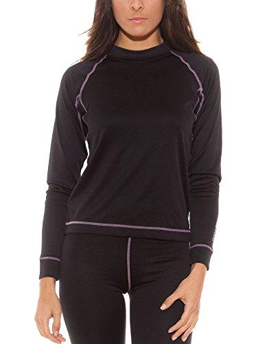 UNNO Camiseta Thermal Negro SG