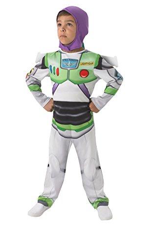 Disney - Disfraz Buzz Lightyear para niños, talla L (I-610386L)