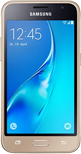 Samsung Galaxy J1 (2016) Smartphone (4,5 Zoll (11,41 cm) Touch-Display, 8 GB Speicher, Android 5.1) gold