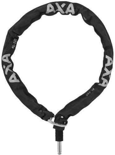 AXA Defender Einsteckkette Lock, 59551095 S, anthrazit, 100-Centimeter/5.5-Millimeter Diameter