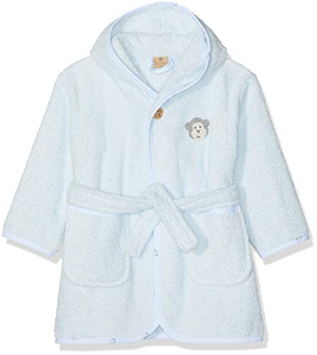 Bellybutton mother nature & me Unisex Baby Bademantel, Blau (Baby Blue|Blue 3023), 98/104