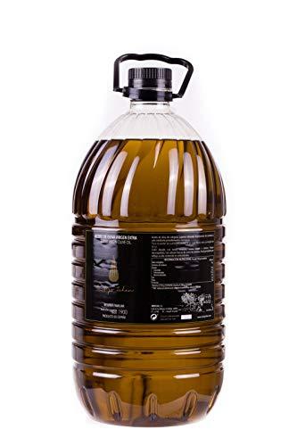 Aceite de Oliva Virgen Extra - Cortijo Zahan - Aceite Español - Aceite Oliva Premium - Reserva Familiar - Aceite Premium D.O. Jaen - Variedad Picual - 5L